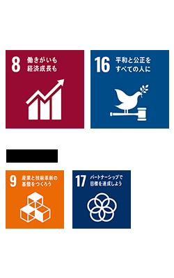SDGsユニバーサルデザインロゴ